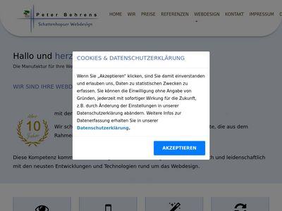 Schattenhopser Webdesign