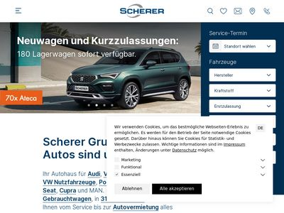 Scherer Ernst Autohaus Tankstelle