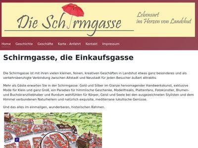 Schirmgasse in Landshut