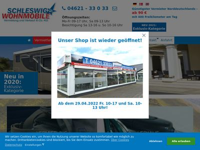 Schleswig Wohnmobile