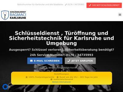Schlüsseldienst Bagmaci Karlsruhe