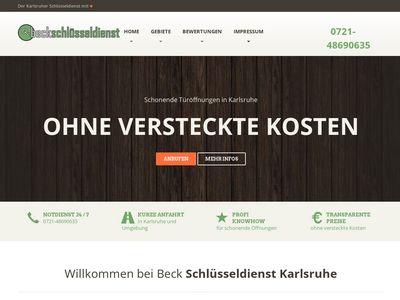 Beck Schlüsseldienst Karlsruhe