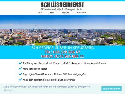 Schlüsseldienst Kreuzberg