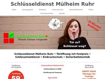 Schlüsseldienst Mülheim
