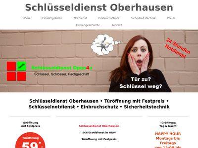 Schlüsseldienst Oberhausen