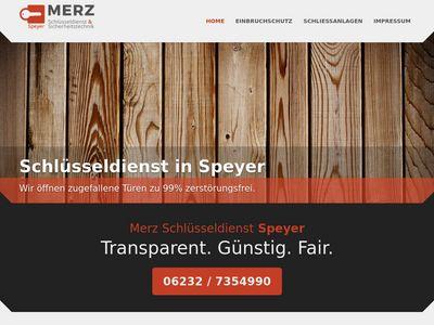 Merz Schlüsseldienst Speyer