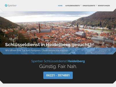 Sperber Schlüsseldienst Heidelberg