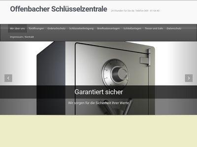 Offenbacher Schlüsselzentrale