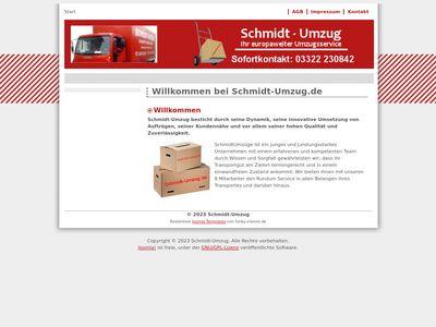 Schmidt-Umzüge