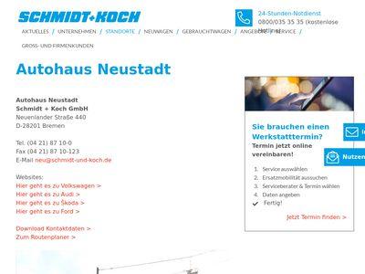 Autohaus Neustadt Schmidt + Koch GmbH