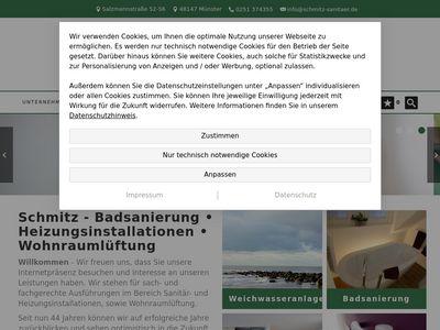 Schmitz Sanitär Heizung GmbH Sanitär