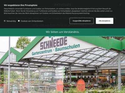 Schneede Gartenzentrum Baumschulen GmbH