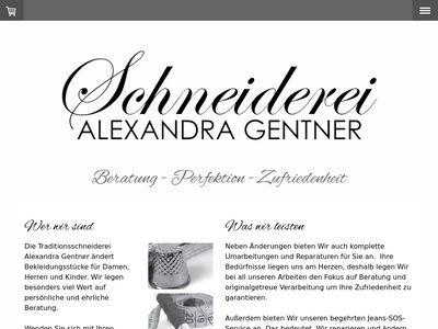 Schneiderei Gentner
