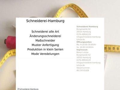 Schneiderei Hamburg