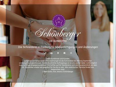 Schneiderei Schönberger