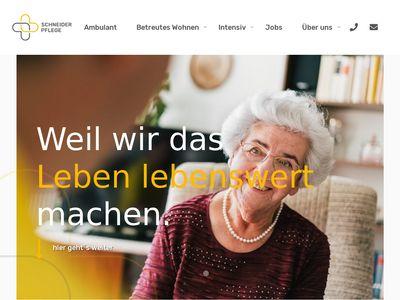 Ambulante Kranken- & Altenpflege Schneider