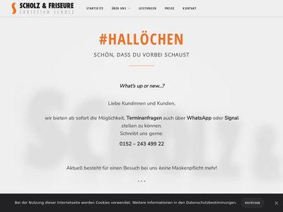 SCHOLZ + FRISEURE