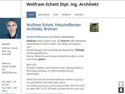 Schott Wolfram Architekt