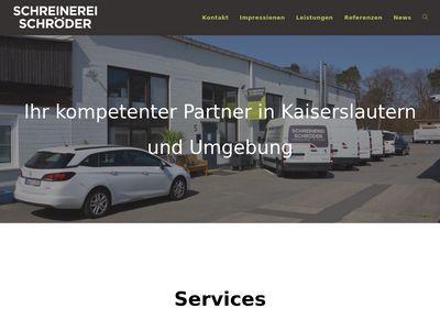 Türen Schreinerei Schröder