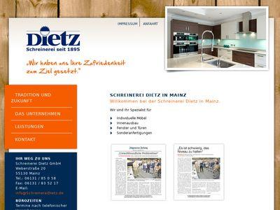 Schreinerei Dietz GmbH