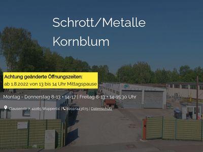 Kornblum Schrott-Metalle