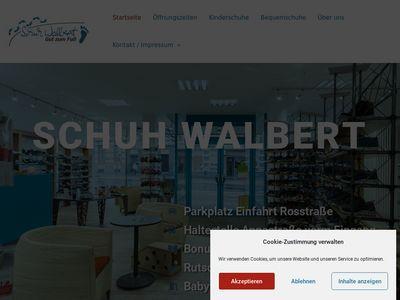 Schuh Walbert- Gut zum Fuss