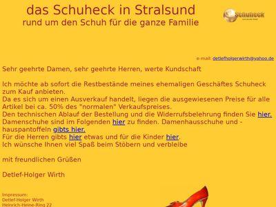 Schuhe und Lederwaren u. Detlef-Holger Wirth