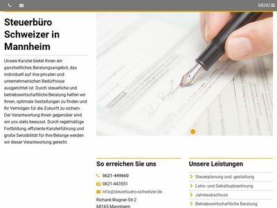Schweizer Hans Jürgen Steuerberater