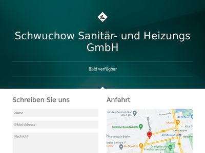 Schwuchow Sanitär- u.Heizungs-GmbH