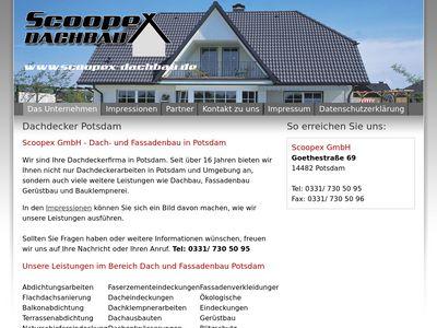 SCOOPEX GmbH - Dach- und Fassadenbau