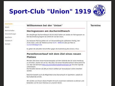 SC Union Homburg 1919 e.V.
