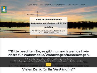 Campingplatz und Badeseen Mainhausen
