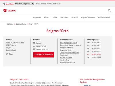 SELGROS Cash & Carry Fürth