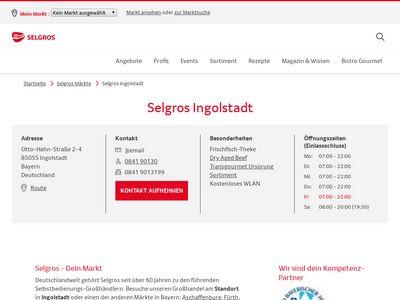 SELGROS Cash & Carry Ingolstadt