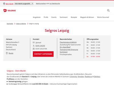 SELGROS Cash & Carry Leipzig