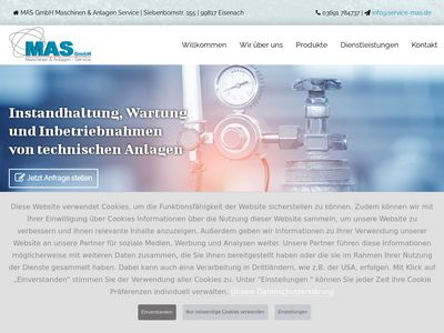 MAS GmbH Maschinen & Anlagen Service