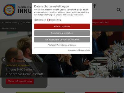 Innung Sanitär Heizung Klempner Klima Berlin
