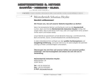 SAHR Sanitär- Heizungs- Rohrleitungsbau GmbH