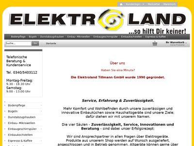 Elektroland Tillmann GmbH