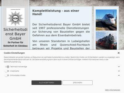 Sicherheitsdienst Bayer GmbH