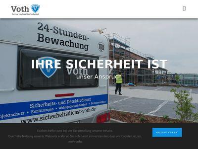 Sicherheitsdienst & Detektei Voth