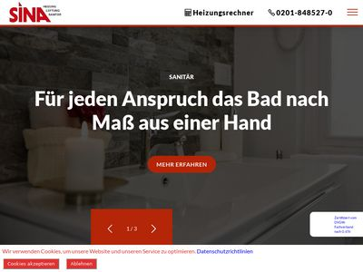 SINA GmbH Heizung-Lüftung-Sanitär