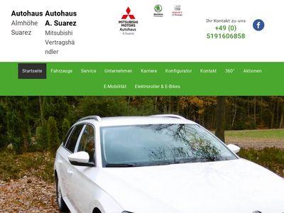 Autohaus Almhöhe Inh. A. Suarez