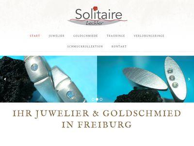 Solitaire Lechler | Schmuck und Trauringe