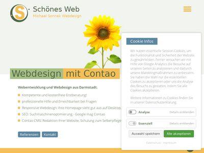 Michael Sonnek Webdesign