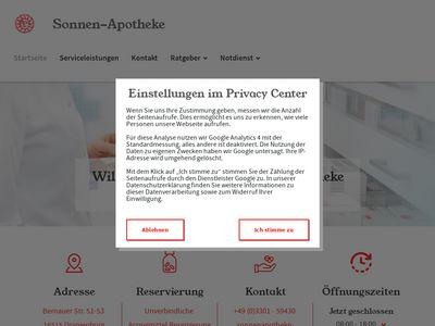 Sonnenapotheke Inhaber: Jürgen Singer e.K.