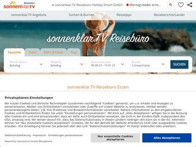 Sonnenklar.TV Reisebüro Essen