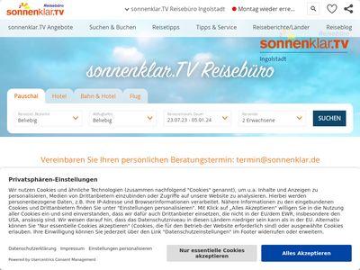 Sonnenklar.TV Reisebüro Ingolstadt