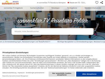 Sonnenklar.TV Reisebüro Kempten