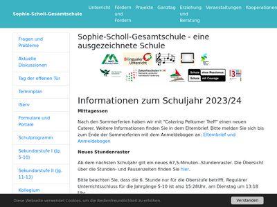 Sophie-Scholl-Gesamtschule